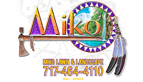 miko lawn and landscape logo
