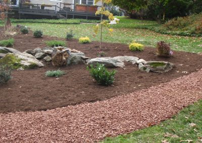 Home Landscaping with Mulch